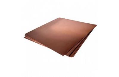 Бронзовый лист БрБ2, М 0,5x280x1000